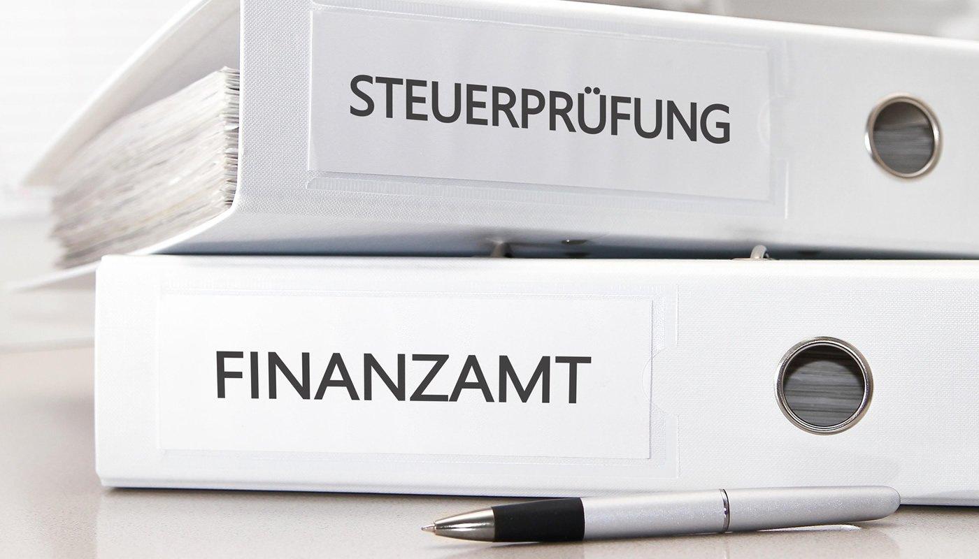 Aktenordner Finanzamt & Steuerprüfung