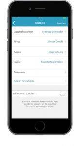 VimcarApp_Betriebsfahrt